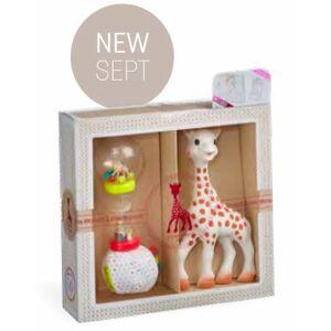 Vulli Můj první dárkový set (žirafa Sophie + měkké marakasy) - Součástí setu je i dárková taška a ka