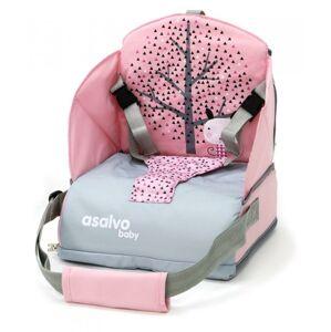 ASALVO Booster na jídelní židli ANYWHERE, nordic pink
