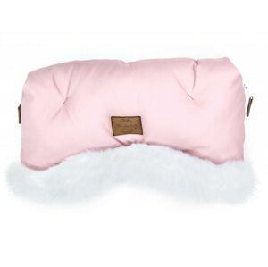 Floo for baby rukávník Alaska pink/white