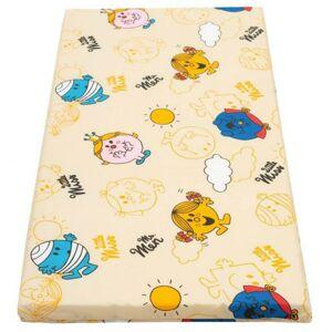 New Baby Dětská pěnová matrace 120x60 oranžová - různé obrázky