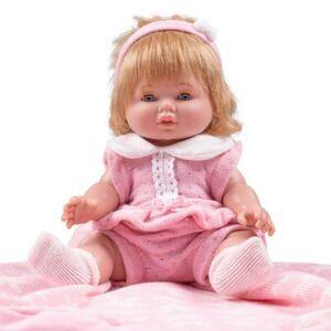 Berbesa Luxusní dětská panenka-miminko Amalia 34cm