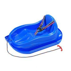 Bayo Plastové sáňky s opěradlem MINI modré