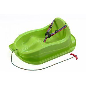 Bayo Plastové sáňky s opěradlem MINI zelené