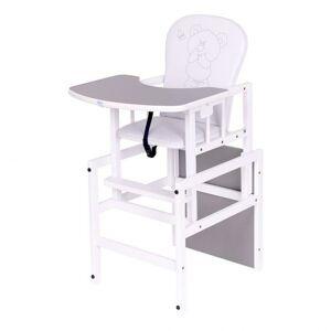 Drewex Borovicová židlička Antonín Medvídek a motýlek šedá