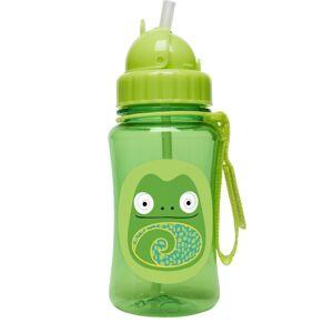 SKIP HOP Zoo Hrnek s brčkem bez PVC a BPA Chameleon 12m+