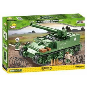 Cobi II WW M12 GMC (Gun Motor Carriage), 560 k, 2 f
