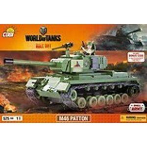 COBI Trading  World of Tanks M46 Patton 525 k, 1 f