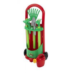 Ecoiffier Vozík so záhradným náradím a krhličkou