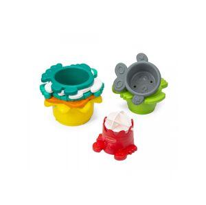 Infantino Stohovací kelímky do koupele s mlýnkem