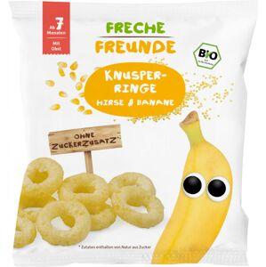 BIO Křupavé kroužky - Proso a banán 20g