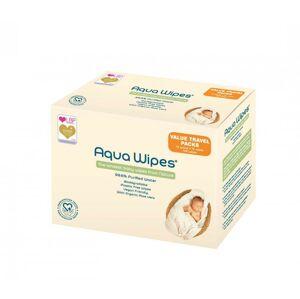 Aqua Wipes - EKO dětské vlhčené ubrousky, 12x12 ks
