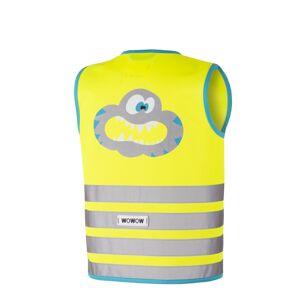 WOWOW - dětská reflexní vesta - Crazy Monster Jacket Yellow M