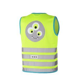 WOWOW - dětská reflexní vesta - Crazy Monster Jacket Green M
