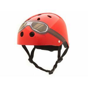 CoCoNuts  dětská helma ČERVENÁ -GOOGLE, velikost S