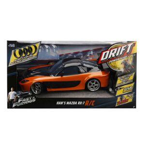 JADA Rýchlo a zbesilo RC auto Drift Mazda RX-7 1:10