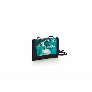 KARTON P + P Detská textilná peňaženka - Unicorn 1