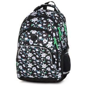 KARTON P+P OXY SCOOLER Flowers - Školský batoh