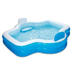 MAC TOYS Rodinný bazén Elegant sa sedadlami