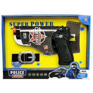 Policejní pistole s opaskem
