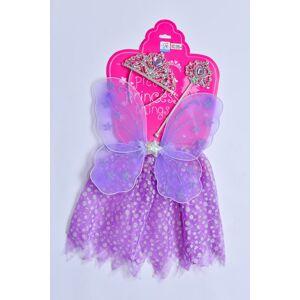 Mac Toys Šaty pre princeznú - fialové