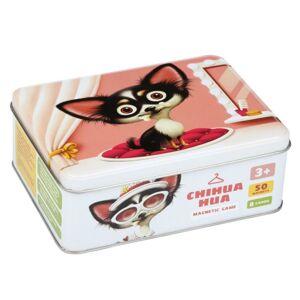 Puzzlov Čivava - psie móda - magnetická hra 50 dielikov a 8 predlôh