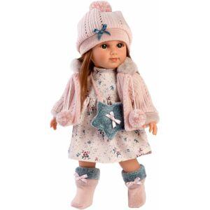 Llorens 53534 NICOLE - realistická bábika s celovinylovým telom - 35 cm