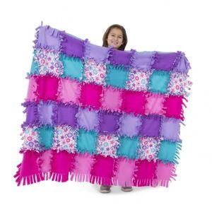 Melissa & Doug - Výroba fleecové deky