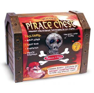 Melissa & Doug - Pirátska truhla