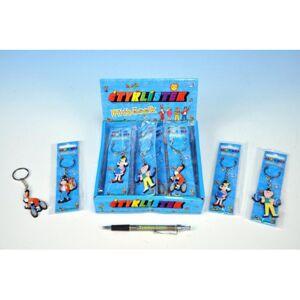 Mikro Prívesok na kľúče postavičky Štvorlístok 5cm 4 druhy na karte v sáčku 26ks v DBX