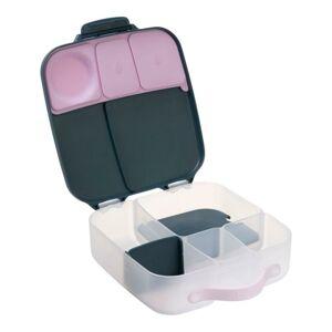 b.box Svačinový box velký - indigo/růžový