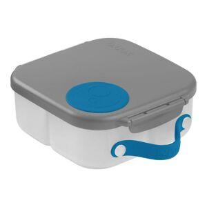 b.box Svačinový box střední- modrý/šedý