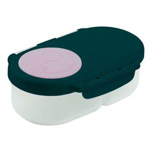 b.box Svačinový box malý - indigo/růžový