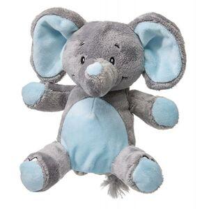 My Teddy Můj první slon - plyšák - modrý