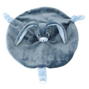My Teddy Můj zajíček - muchláček - modrý