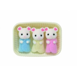 SYLVANIAN FAMILY Baby Marshmallow myšky trojčata