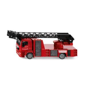 SIKU Super - hasiči MAN s otočným žebříkem