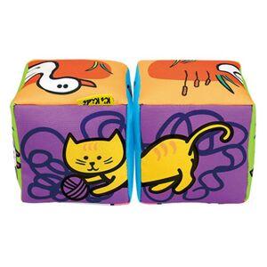 K's Kids Zábavné textilné kocky - Zvieratká