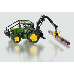 SIKU Farmer Lesnícky traktor John Deeres nakladacie lyžicou a kladami 1:32