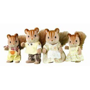 Sylvanian Families Rodina hnedých veveričiek