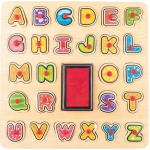 WOODY Razítka/Puzzle ABC