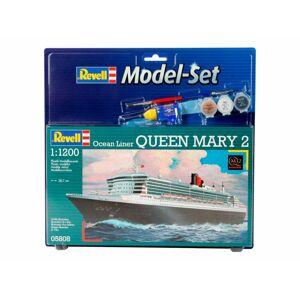 Revell ModelSet loď 65808 - QUEEN MARY 2 - poškodený obal