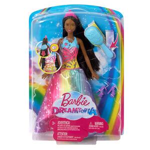Mattel Barbie Magické vlasy Princezná černoška - poškodený obal
