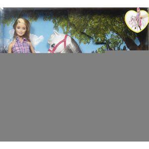 Mattel Barbie Bábika s koňom - poškodený obal
