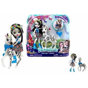 Mattel Enchantimals bábika s veľkým zvieraťom - poškodený obal