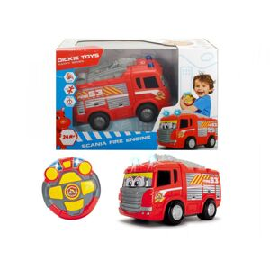 DICKIE D 3814031 RC Happy Hasičské auto Scania 27 cm, 2kan-poškodený tovar
