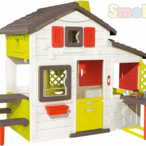 SMOBY SM 810200 Domček Friends House s kuchyňou - poškodený obal