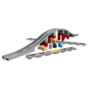 LEGO DUPLO 2210872 Doplnky k vláčika - most a koľaje - poškodený obal