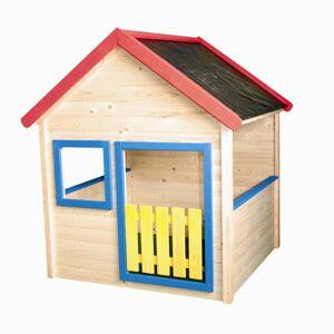 WOODY OL 10110 Záhradný domček s farebným lemovaním - poškodený obal