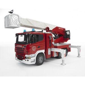 BR 3590 - Nákladní auto SCANIA - požární žeb -  poškozený obal