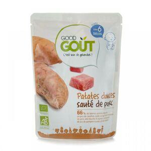 GGO 27029 Good Gout BIO Sladké zemiaky s bravčovým mäsom 190g - kratšia expiračná doba